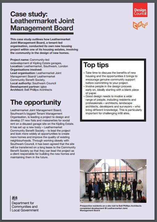 Design Council case study cover